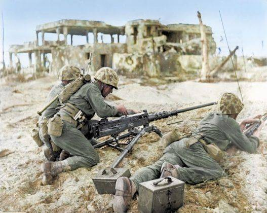 Тихоокеанский фронт американцев во время второй мировой войны - Каменный лес Stone Forest