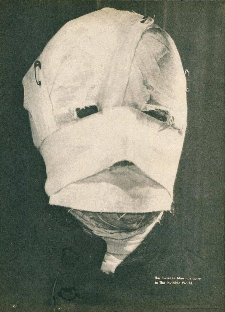 Человек невидимка 1933 - Каменный лес Stone Forest