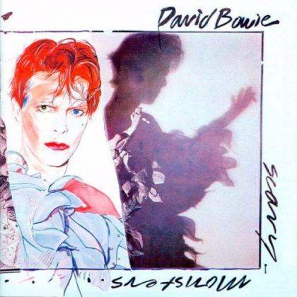 Альбом David Bowie Scary Monsters And Super Creeps 1980 - Каменный лес Stone Forest