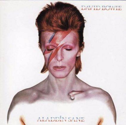 Альбом David Bowie Aladdin Sane 1973 - Каменный лес Stone Forest