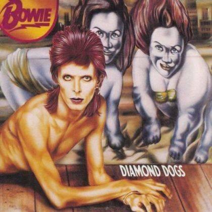 Альбом David Bowie Diamond Dogs 1974 - Каменный лес Stone Forest