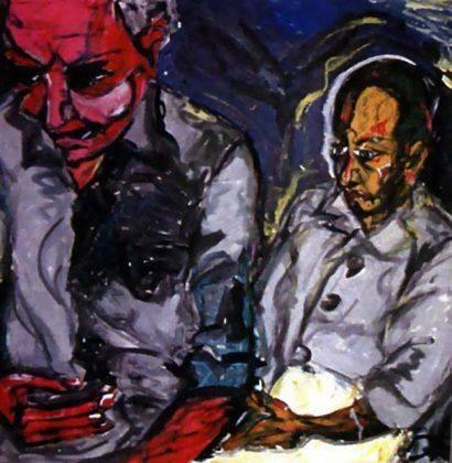 Картина Дэвида Боуи Turkish Father and Son 1978 - Каменный лес Stone Forest