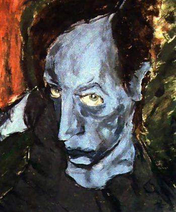Картина Дэвида Боуи Portrait of JO 1976 - Каменный лес Stone Forest