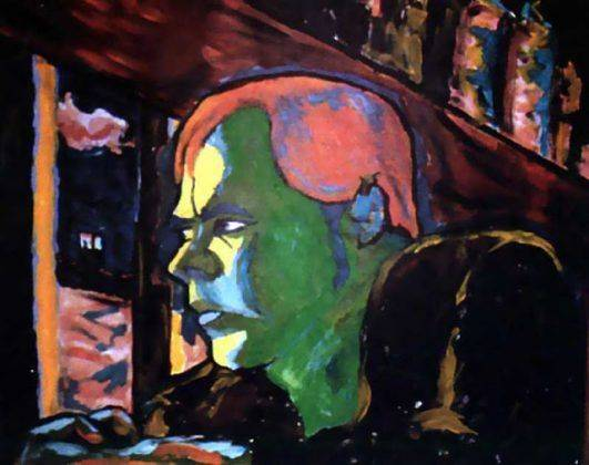Картина Дэвида Боуи I am a World Champion 1977 - Каменный лес Stone Forest