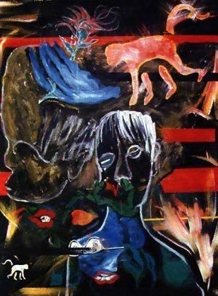 Картина Дэвида Боуи Evol for the Missing 1996 - Каменный лес Stone Forest
