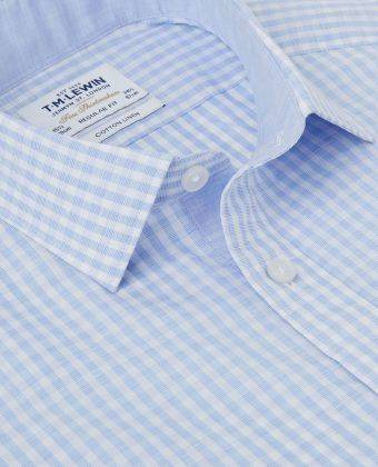 Рубашка cotton + linen - Каменный лес Stone Forest