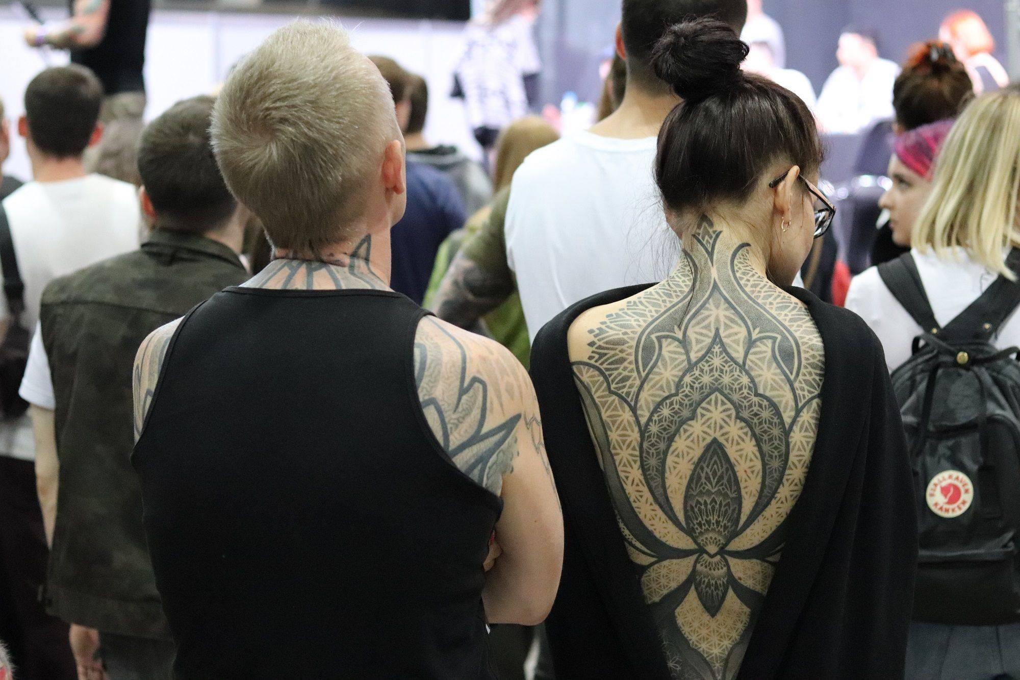 10 Тату конвенция Москва 2019 - Каменный лес Stone Forest