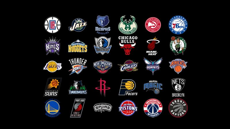 Все логотипы команд НБА - Каменный лес Stone Forest