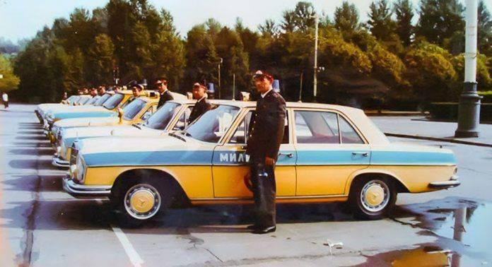 Милицейские автомобили СССР - Каменный лес Stone Forest