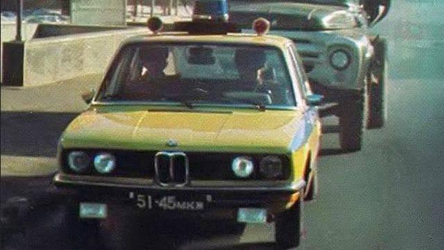 BMW 5 E12 - Каменный лес Stone Forest