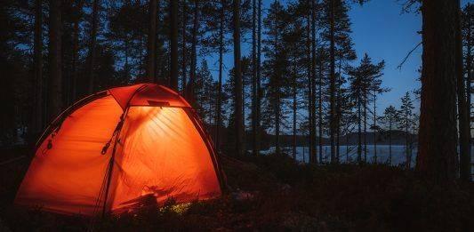 Палатка в поход - Каменный лес Stone Forest