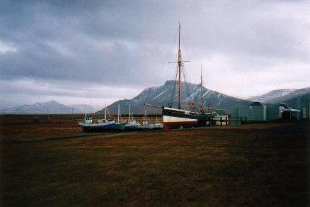 Страна Исландия - Каменный лес Stone Forest