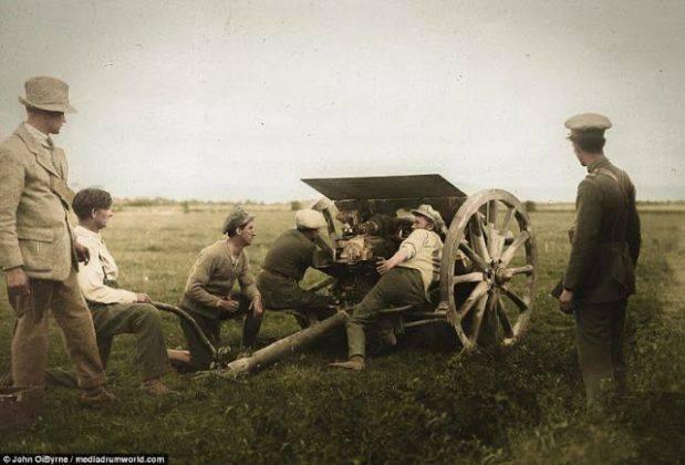Гражданская война в Ирландии 1922-1923 - Каменный лес Stone Forest