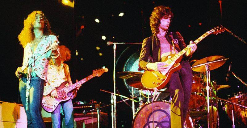 Легенды рока Led Zeppelin - Каменный лес Stone Forest