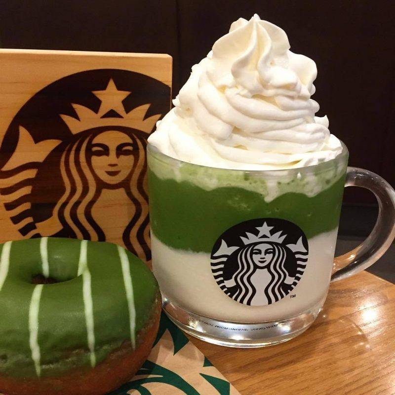 Напитки Starbucks - Каменный лес Stone Forest