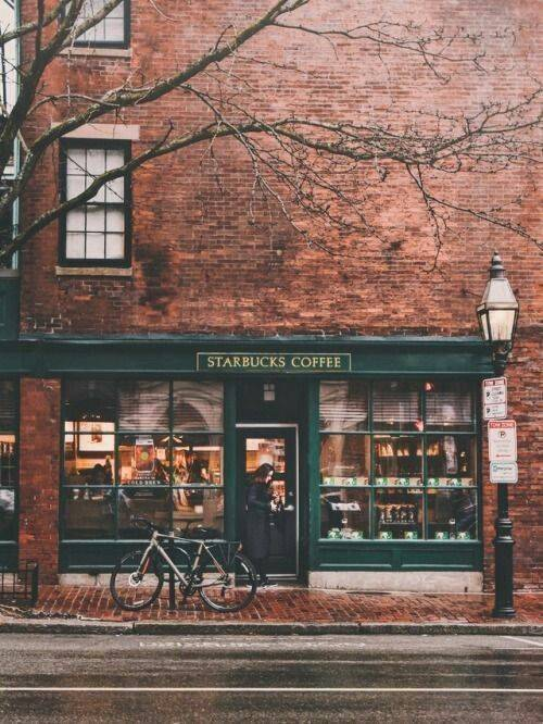 Кофейня Starbucks - Каменный лес Stone Forest