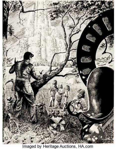 Элои - Каменный лес Stone Forest