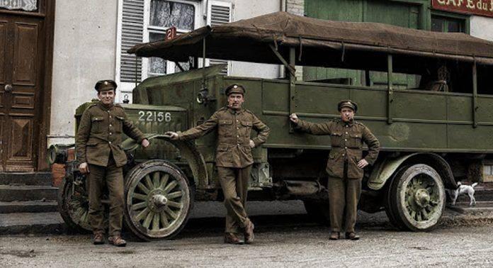 Британские солдаты Первая мировая война - Каменный лес Stone Forest