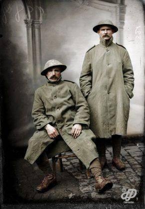 Английские солдаты Первая мировая война - Каменный лес Stone Forest