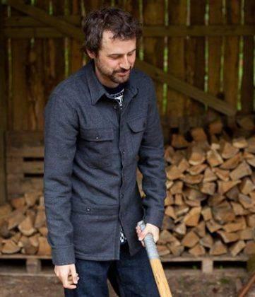 Рубашка Howies - Каменный лес Stone Forest