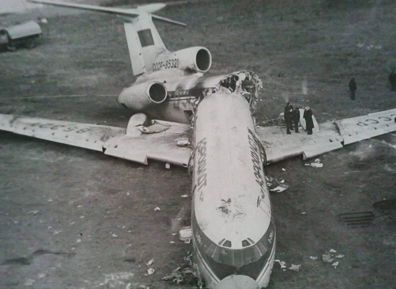 Падение самолета Ту-154 Учкудук - Каменный лес Stone Forest