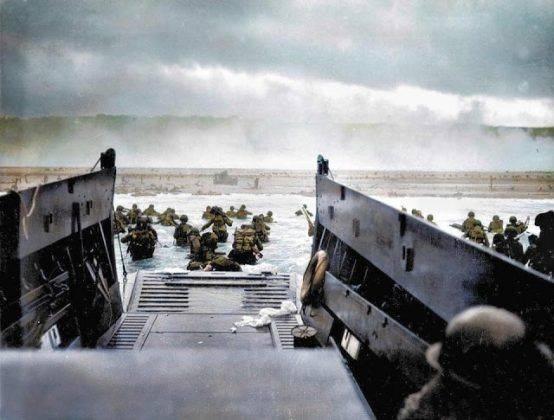 Операция Нептун 1944 - Каменный лес Stone Forest