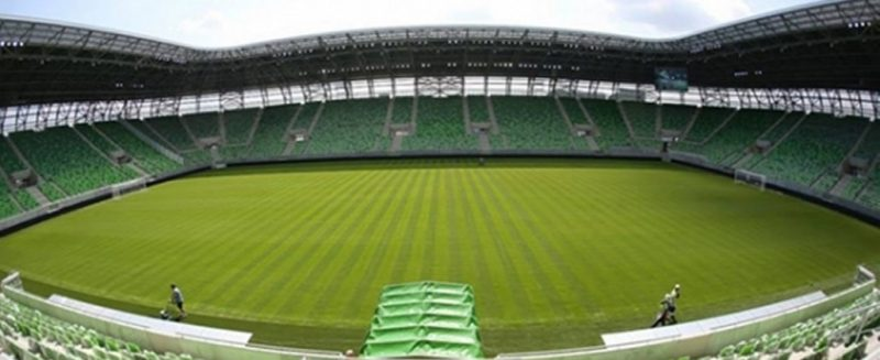 Стадион Ференцварош - Каменный лес Stone Forest