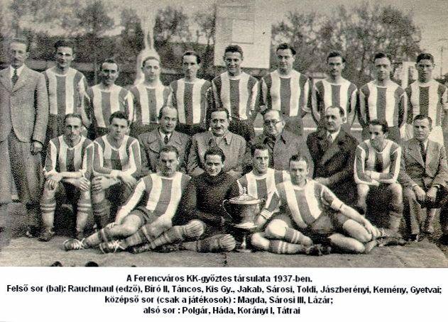 ФК Ференцварош 1937 - Каменный лес Stone Forest