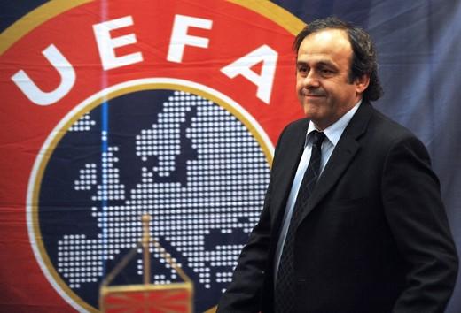 Президент УЕФА Мишель Платини - Каменный лес Stone Forest