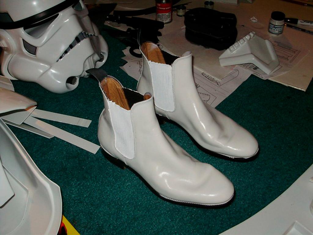 звездные войны и ботинки челси