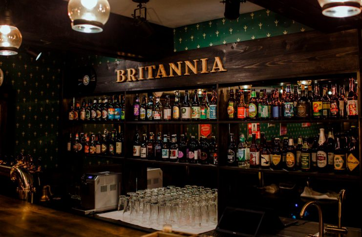 Britannia - английский паб в Коломне