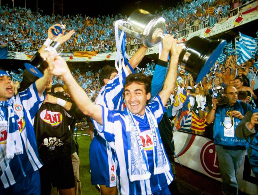 Эспаньол выиграл Кубок Испании 1999 2000 - Каменный лес Stone Forest