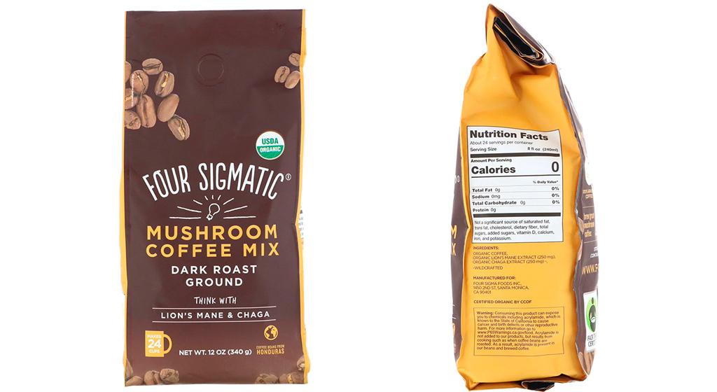 Four Sigmatic Mushroom Coffee кофейно-грибная смесь