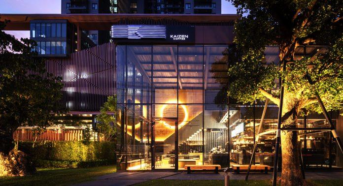 Kaizen coffee в Бангкоке