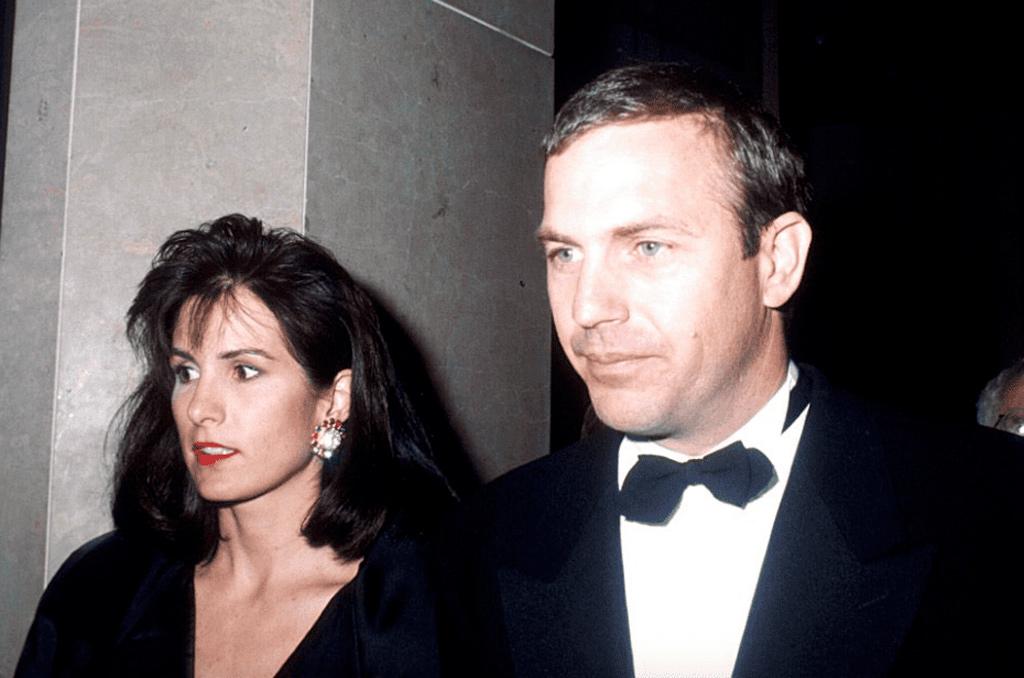 Кевин Костнер и его жена Синди Сильва