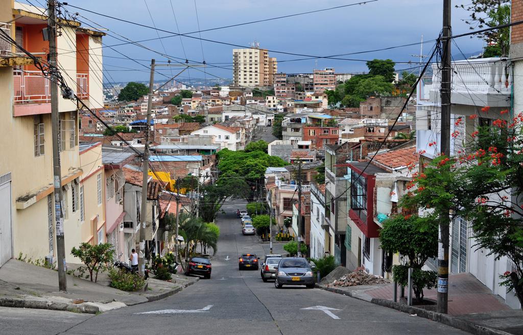 город Кали, Колумбия на портале Каменный лес