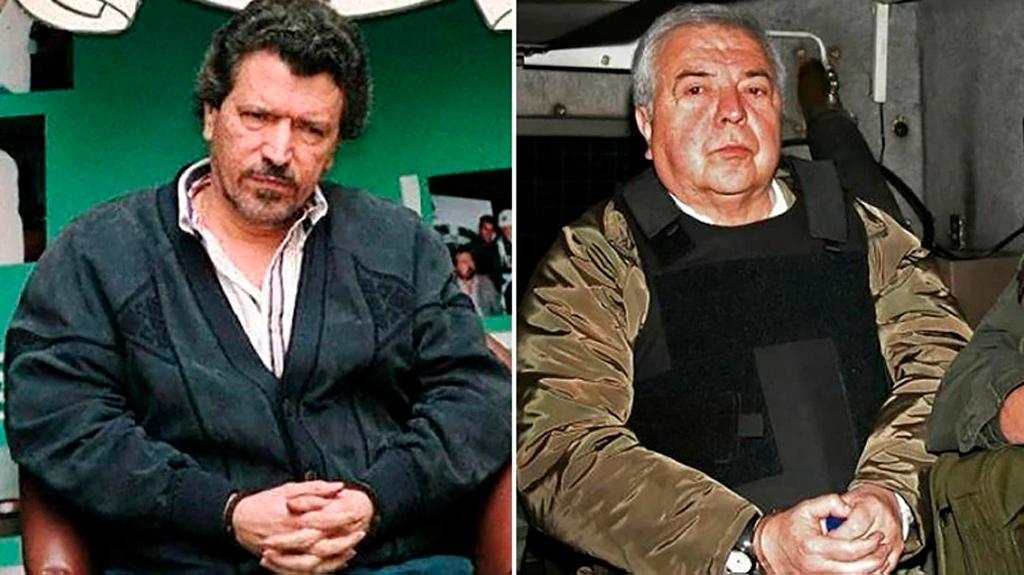 Хильберто Родригес и Хосе Мигель Орехуэло на портале Каменный лес