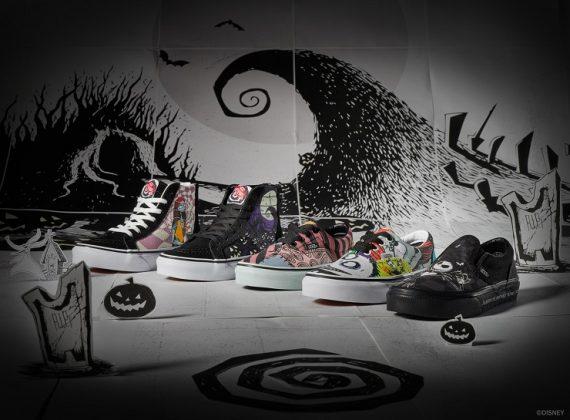 Обувь Vans Кошмар перед Рождеством - Каменный лес Stone Forest