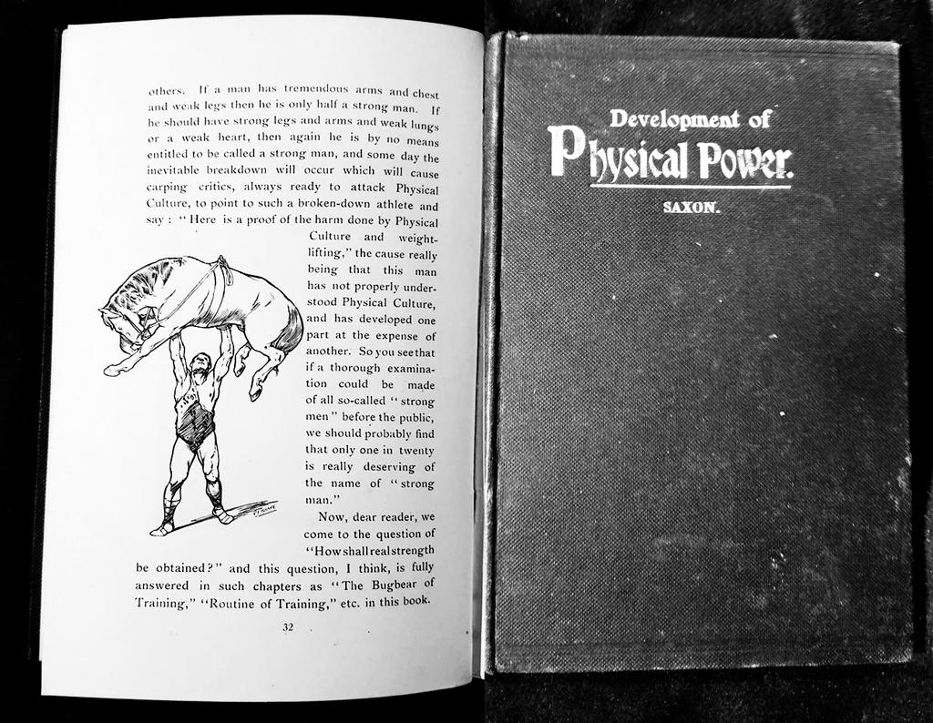 Артур Саксон – книга силача