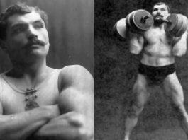 Артур Саксон - немецкий силач из города Лейпциг