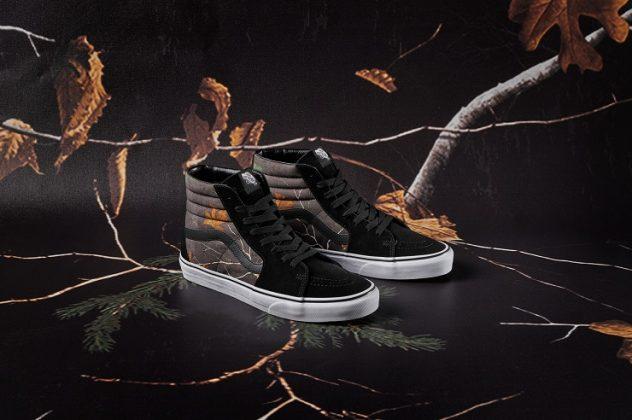 Обувь Vans x Realtree - Каменный лес Stone Forest