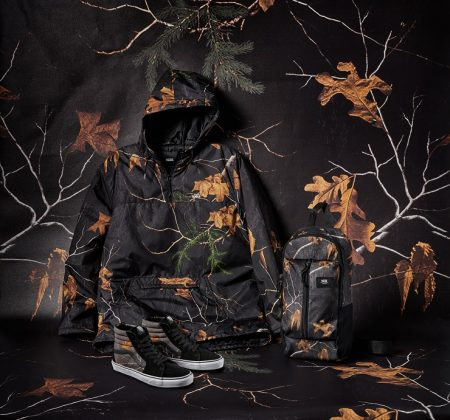 Одежда Vans x Realtree - Каменный лес Stone Forest