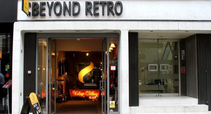 магазин beyond retro