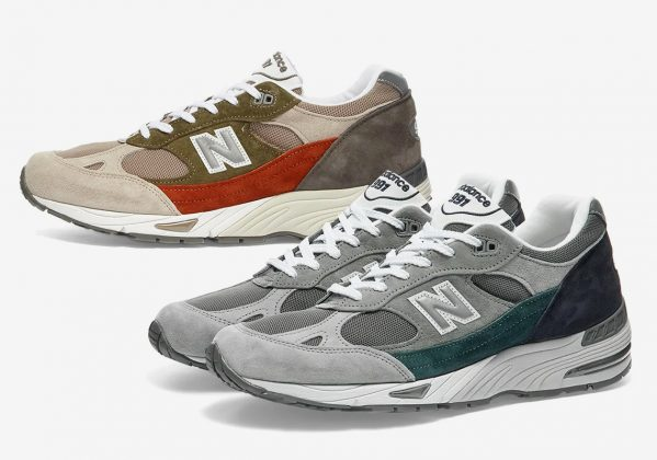 Кроссовки New Balance 991 2020 года - Каменный лес Stone Forest