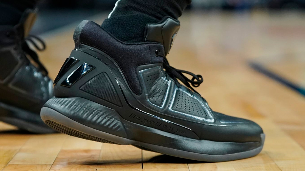 кроссовки adidas Derek Rose 10 Black side