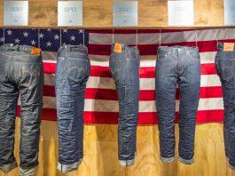 история модели джинсов Levis 501
