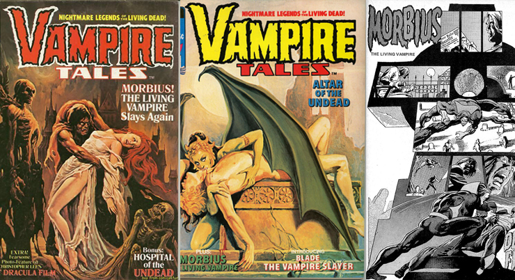 Морбиус в Vampire Tales от Curtis Magazines - Каменный лес Stone Forest