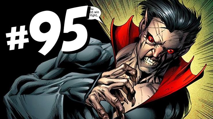 Морбиус в Ultimate Marvel Morbius - Каменный лес Stone Forest