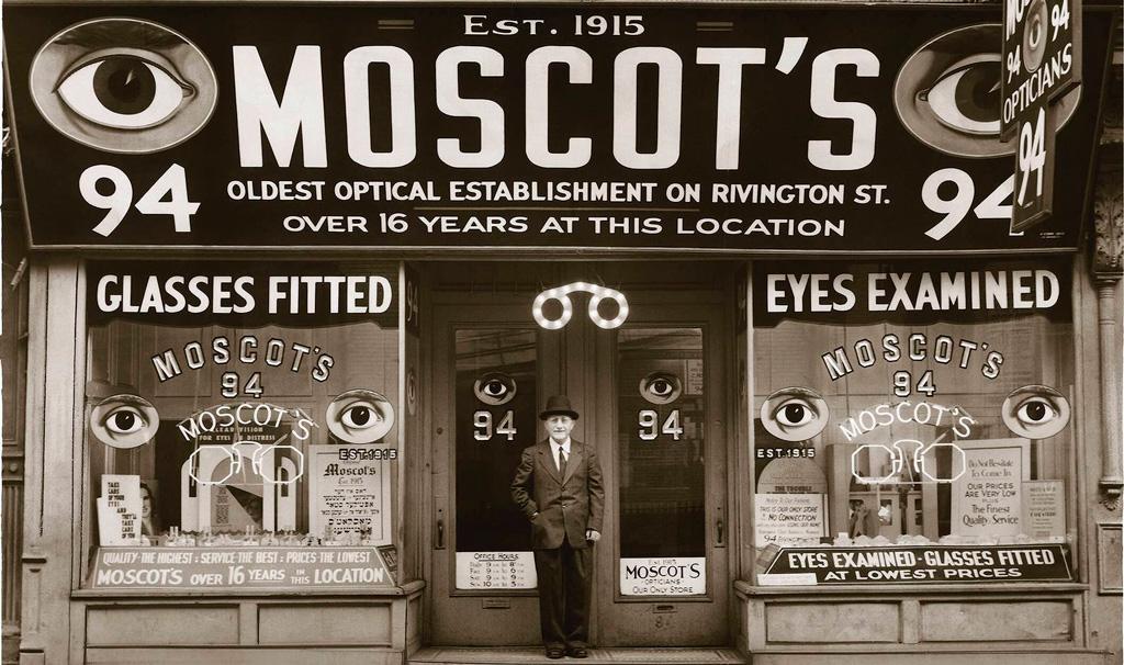 бренд очков Moscot