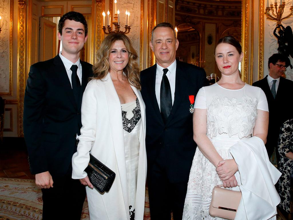семья Тома Хэнкса